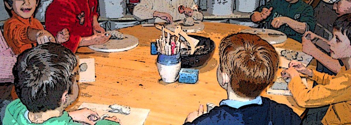 Kinder-Keramik-Kurse